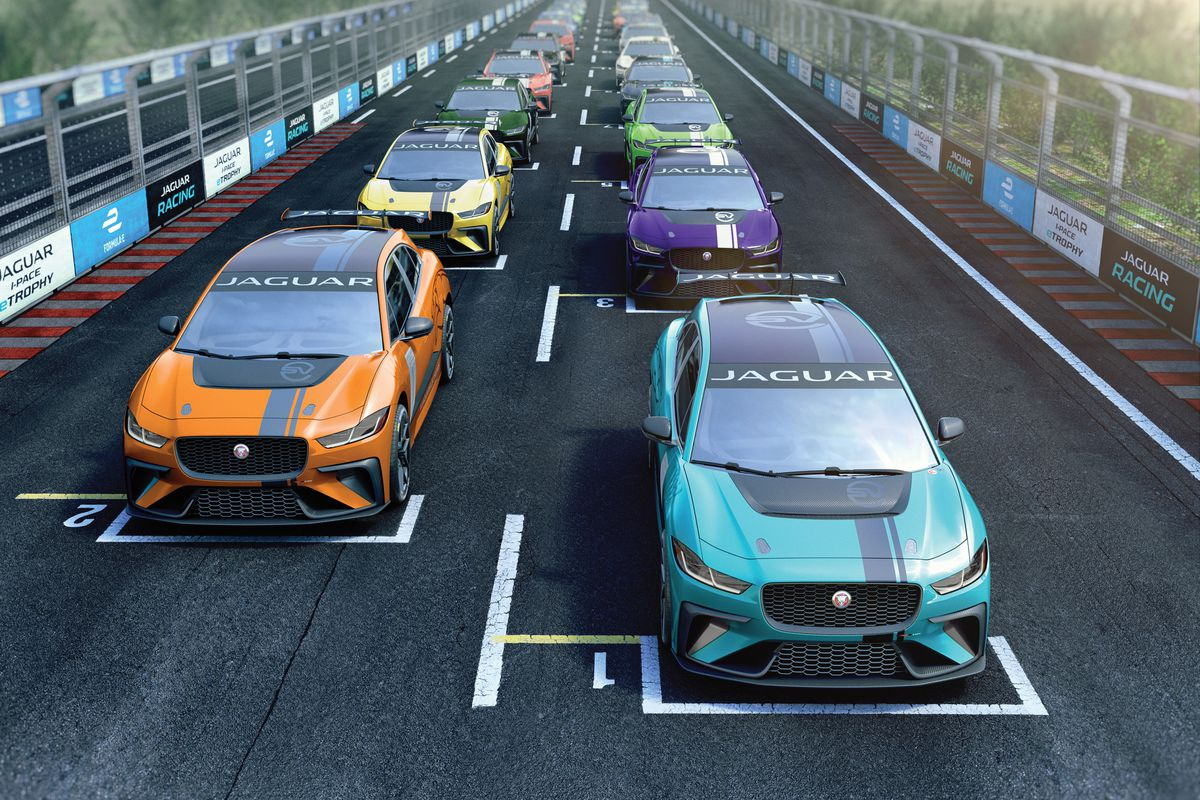 Jaguar I PACE eTROPHY 20 Grid.0